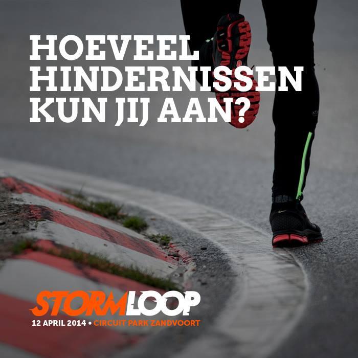 Healthclub OpenAir - Stormloop