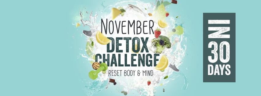 November Detox Challenge