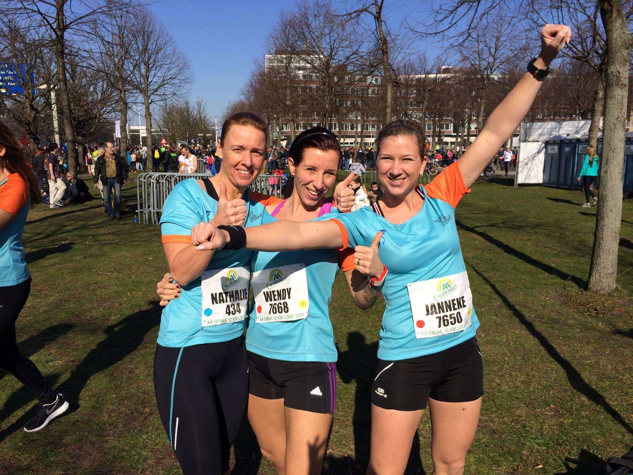 Healthclub OpenAir Running Girls