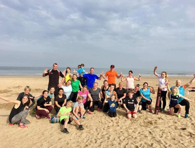 Beach bootcamp 8 april