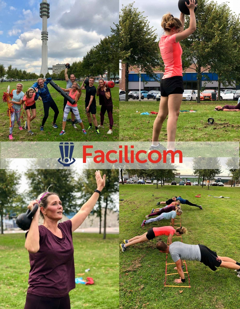Sporten bij Facilicom